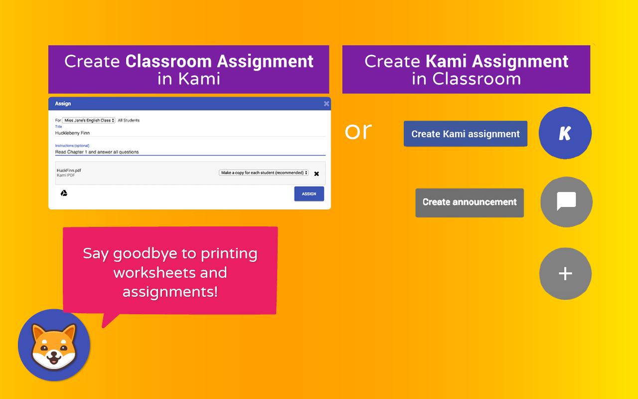 Kami your paperless classroom hero collaborate fandeluxe Gallery