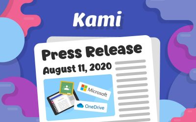Kami expands to support Microsoft and iPad platforms for Fall 2020