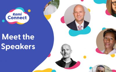 Get to know the world-leading educators and industry professionals speaking at Kami Connect 2021