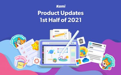 The product updates announced at Kami Connect for 2021