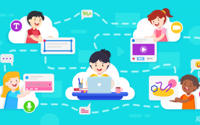 Real-time collaboration to address all learners using Kami