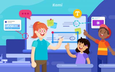 Whiteboard with Kami   Kami Classroom